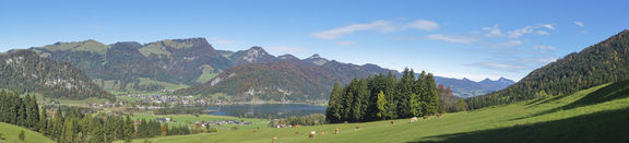 Panorama in Tirol am Walchsee